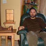 Woodworker Daryll Duus
