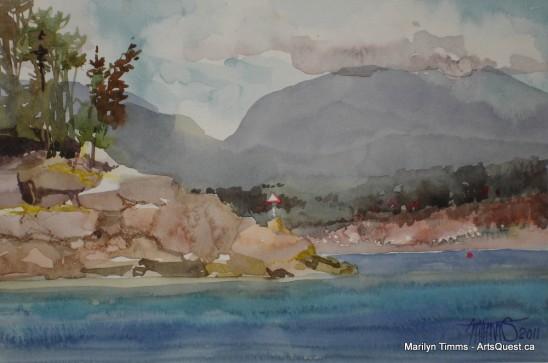 Marilyn Timms – A breath of fresh en plein air