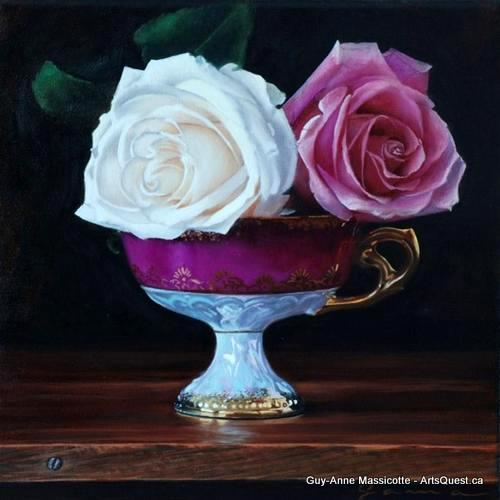 Is It Real or Is It Guy-Anne Massicotte's Painting?