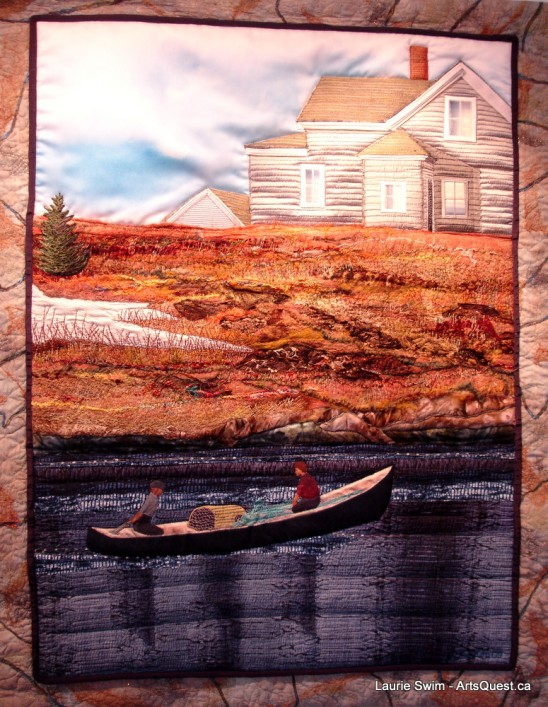 Laurie Swim – On the Cutting Edge of Quilted Art