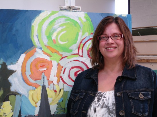 Frances Vettergreen – Poised to Paint