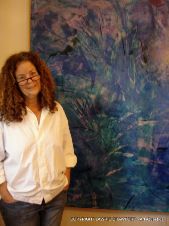 Lawrie Crawford Awakens the Abstract Within Her