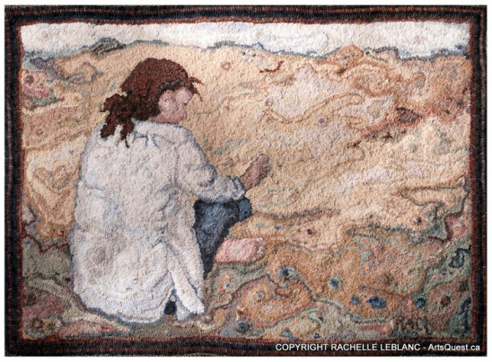 Rachelle LeBlanc – Fine Craft Through Fine Rug Hooking