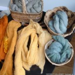 Dyed Raw Fibre