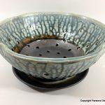 arts-quest-parsons-dietrich-pottery-devon-berry-bowl-and-plate