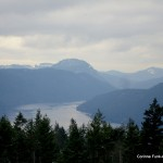 View from the Malahat summit