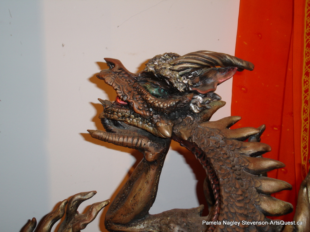 Pamela Nagley Stevenson &#8211; Dragons, Flagons, Function and Form