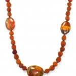 Red Creek Jasper with Arbutus berries