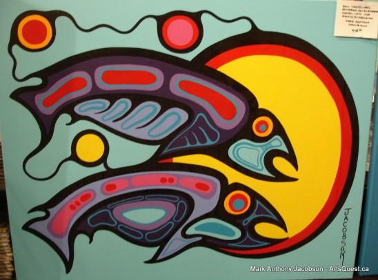 Woodland Artist Mark Anthony Jacobson