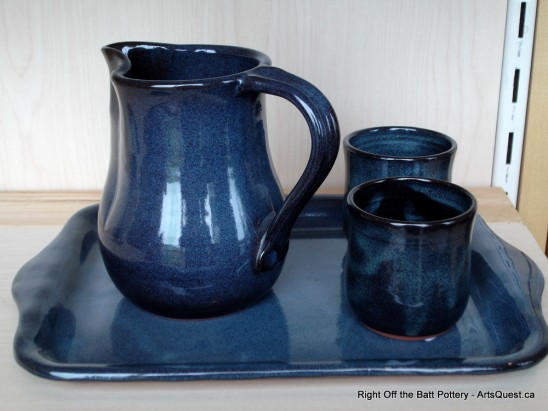 Right Off the Batt Pottery – A Different Spin on the Wheel
