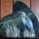 arts-quest-karen-singleton-rock-painting-heron2