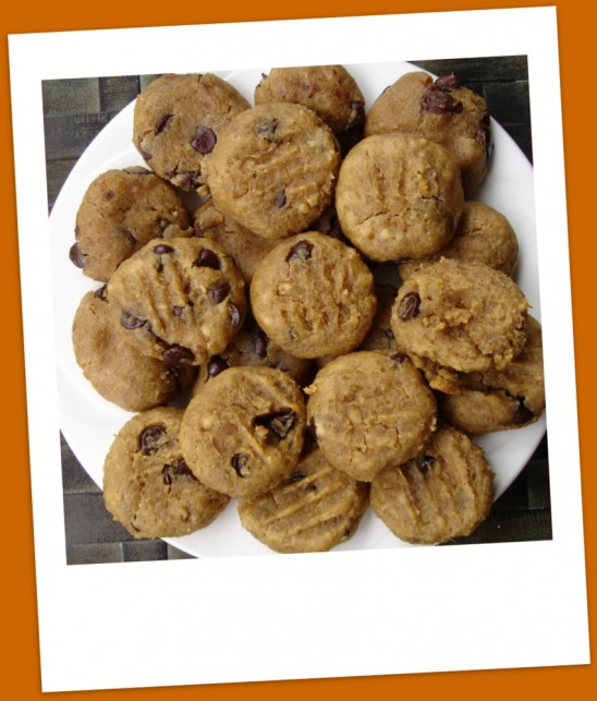 Gluten-Free Chocolate Chip Peanut Butter Cookies from Linda Chiasson