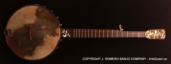 arts-quest-j-romero-banjo-company-12inch-figured-maple