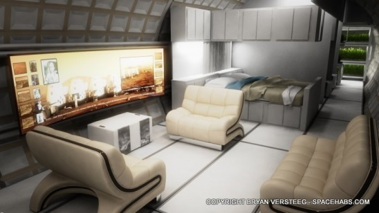Self-Sustaining Living Space