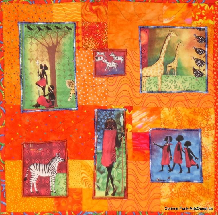 Textile Artist Dorothy Clark