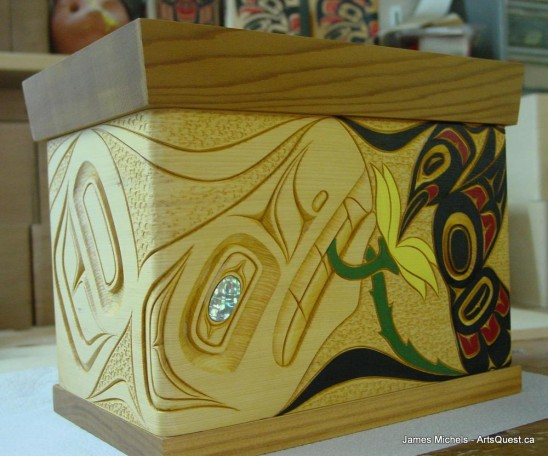 Bent Cedar Boxes Handcrafted by James Michels