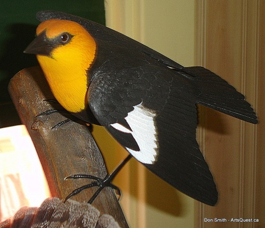 Bird Carver Don Smith