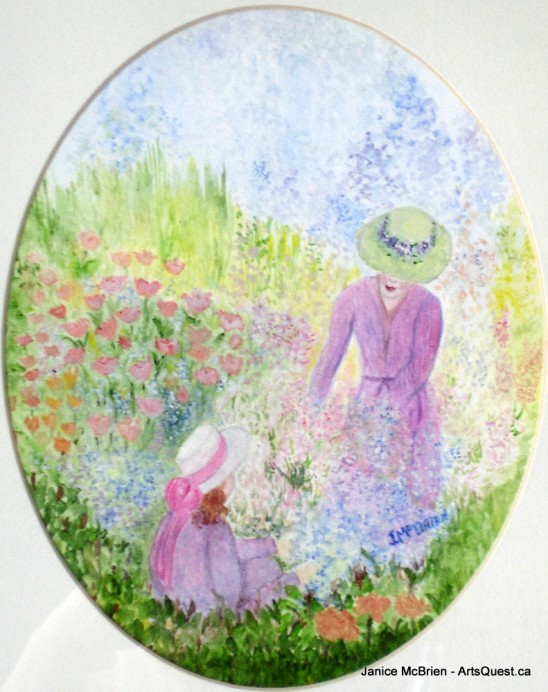 Janice McBrien: Vibrancy Grows in the Garden and on the Canvas