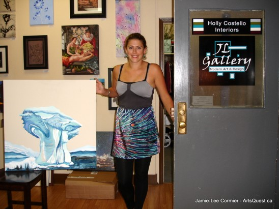Jamie-Lee Cormier – Painting in Her Corner of the World