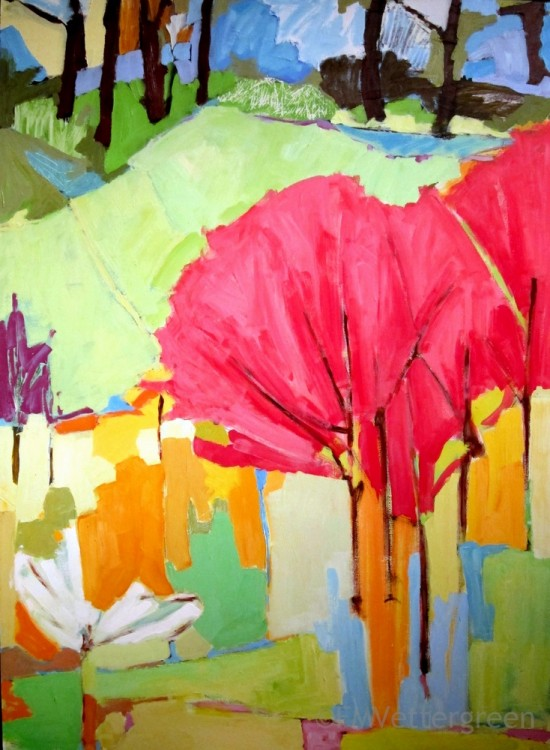 Frances Vettergreen – Poised to Paint