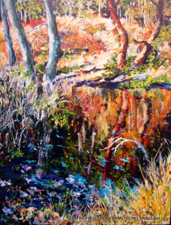 Elspeth Armstrong – Painting with Colour and Light