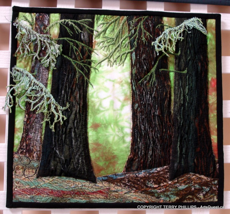 Textile Artist Terry Phillips Brings Fibre to Life
