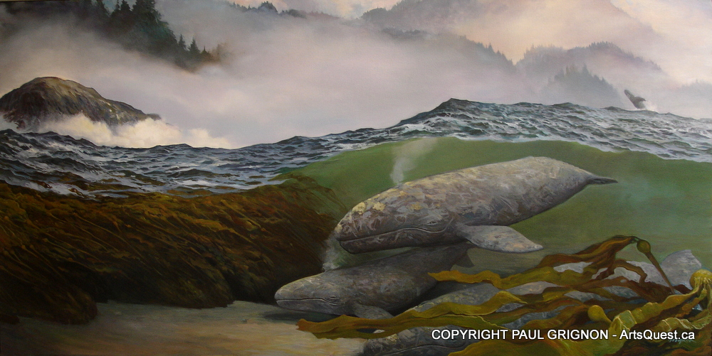Paul Grignon's Dedication to Painting and Our Planet