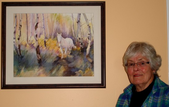 Painter Ann Holtby-Jones Shows Us Anything Goes in the Kitchen