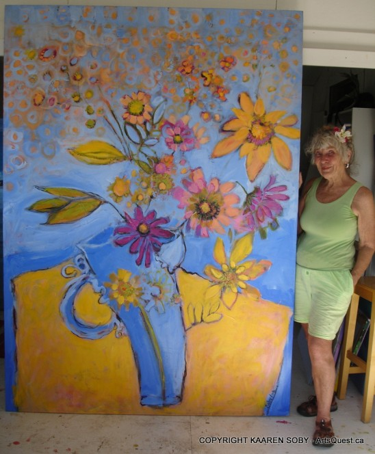 Painter Kaaren Soby Follows Her Passion