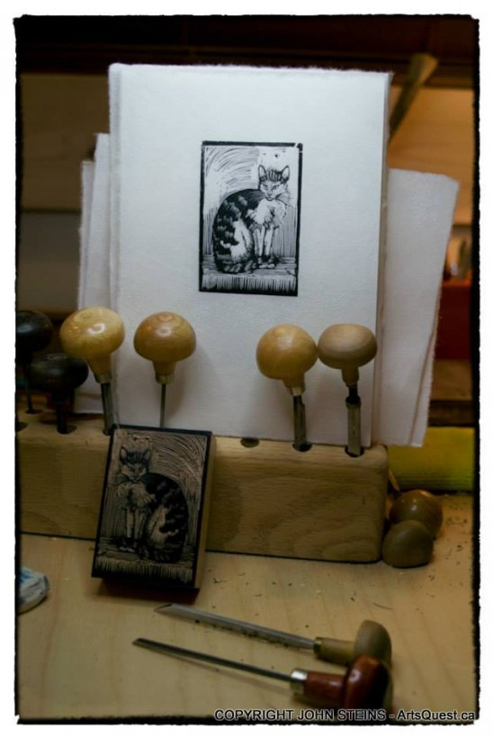 John Steins Shares the Art and Science of Printmaking