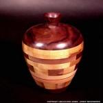 Small Segmented Vase