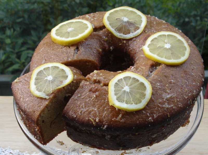 Mixed Media Artist Shelley Hakonson Mixes Up Lemon Pound Cake