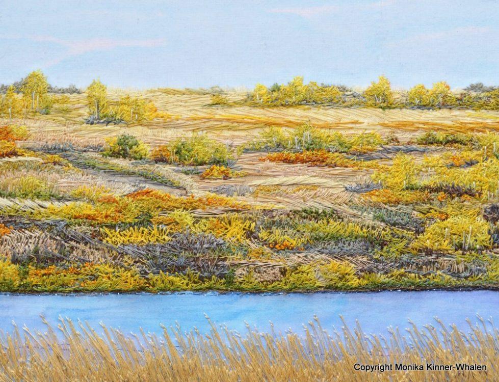 Textile Artist Monika Kinner-Whalen's Prairie Passions
