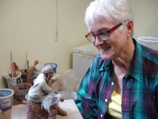 Sandy Christensen's Clayful Characters