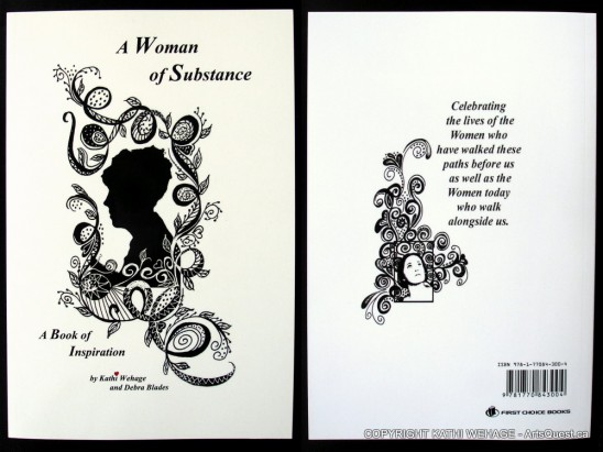 Kathi's first book - A Woman of Substance