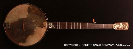 arts-quest-j-romero-banjo-company-12inch-figured-maple