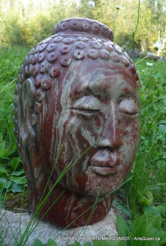 """Alabaster Buddha"" - U.S. Alabaster"
