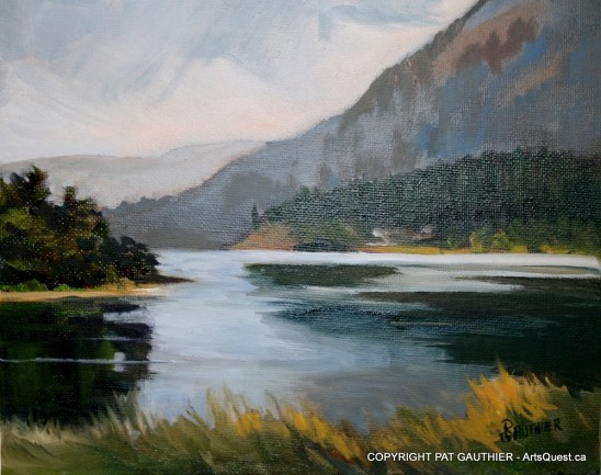 Shuswap Lake - done in oil