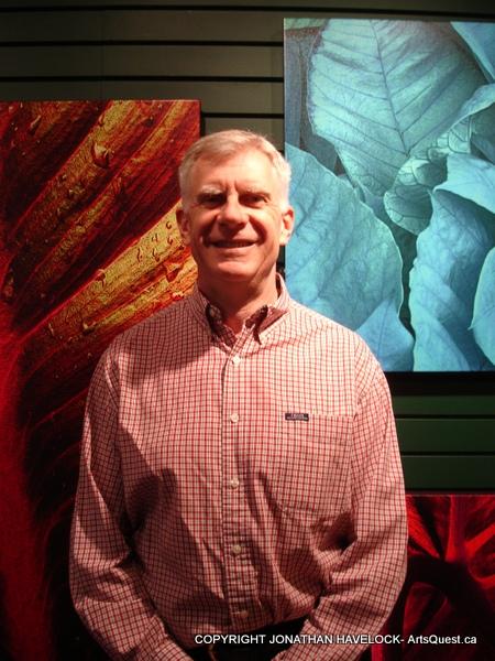 Jonathan Havelock at the RR Gallery in Edmonton, Alberta