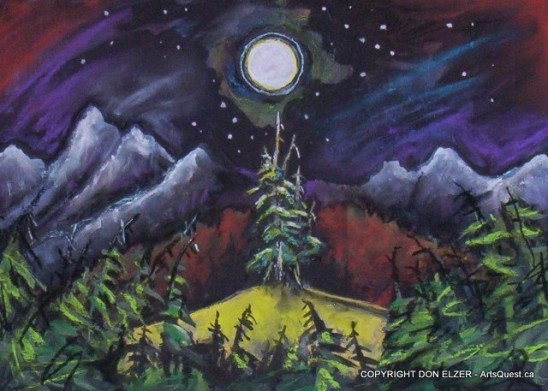 """""""Monashee Moon #1"""""""