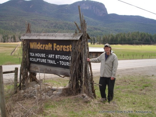 Don Elzer at his Wildcraft Forest